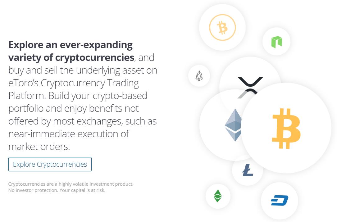 crypto etoro best bitcoin trading platform