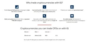 IG Cryptocurrency Trading