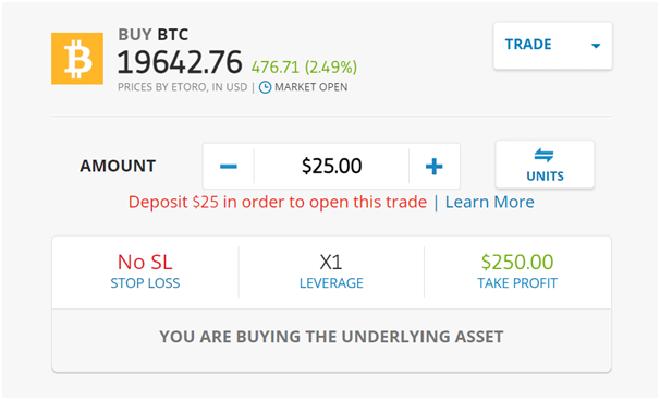 bitcoin vásárlás etoro