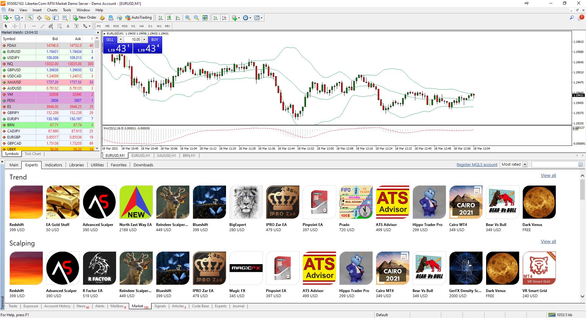 software de bot de negociação de ações bandas de bollinger com opções binárias