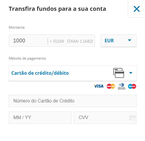 como comprar etf trading com cartão de crédito
