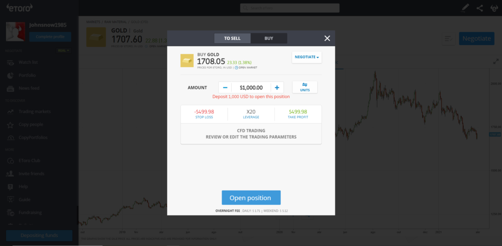buy gold cfd trading - comprar ouro cfd