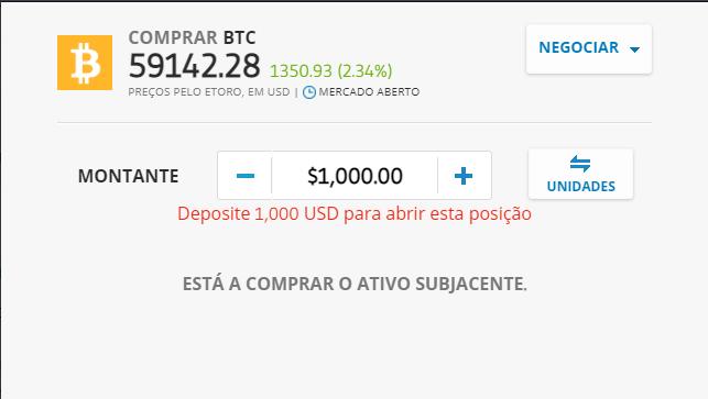 como comprar bitcoin na bolsa em português