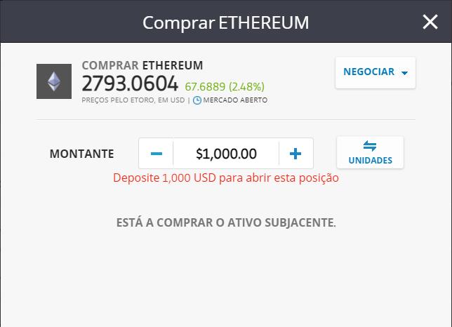comprar ethereum valor eth trader