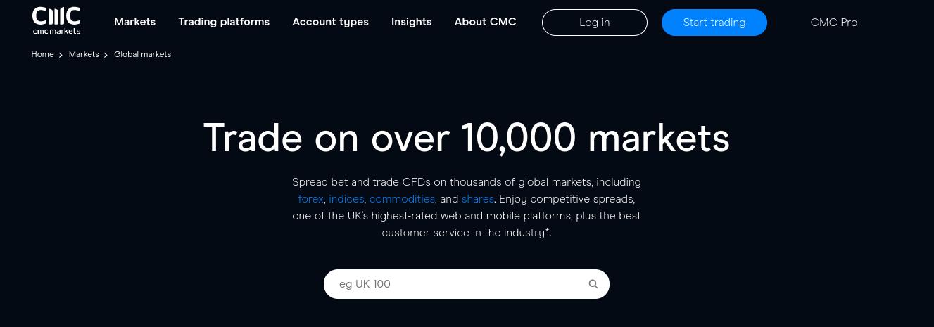 cmc markets review best mt4 broker uk