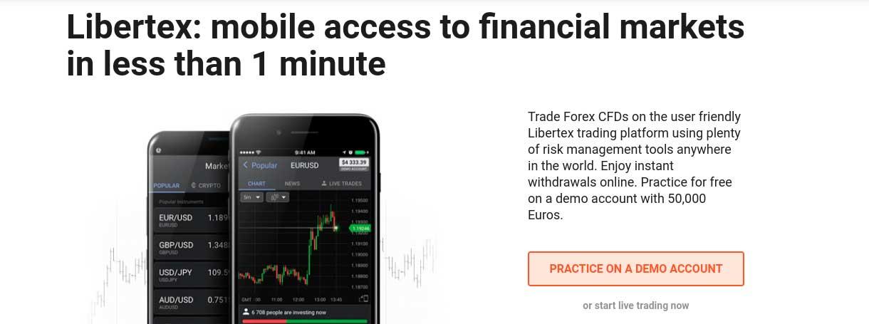 libertex mobile trading
