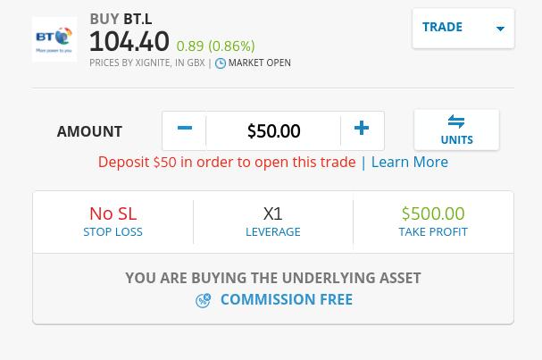 How to buy shares on eToro