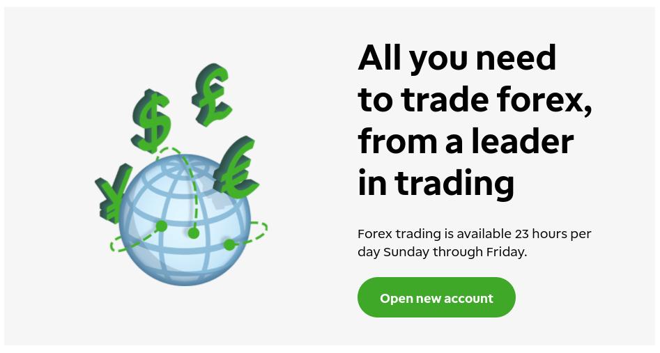 TD Ameritrade forex trading platform