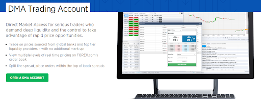 MT5 Brokers Forex com DMA Trading