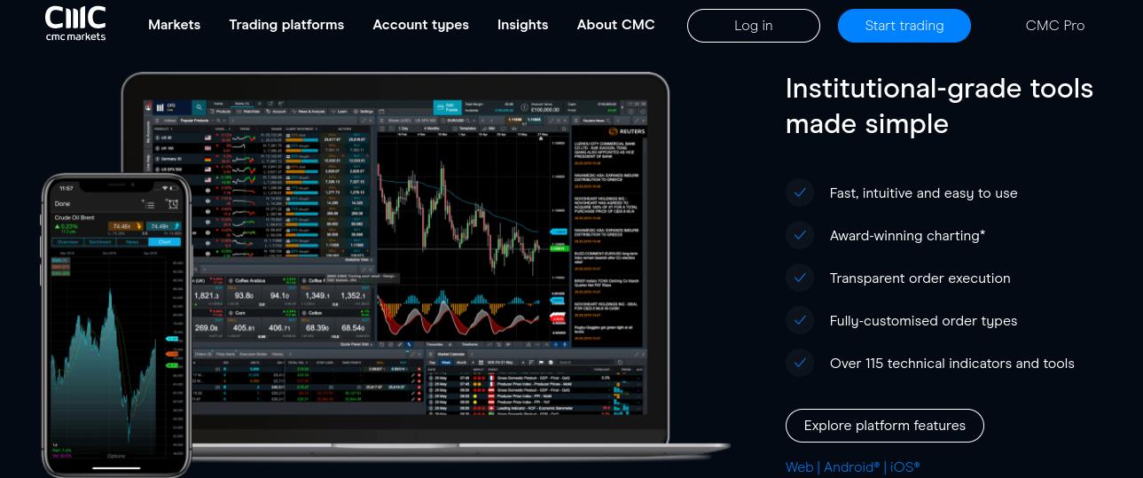 cmc markets AU review