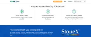 Why choose Forex.com