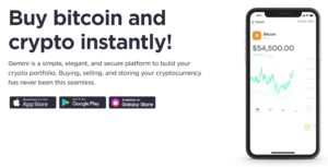 Gemini Bitcoin Trading Platform