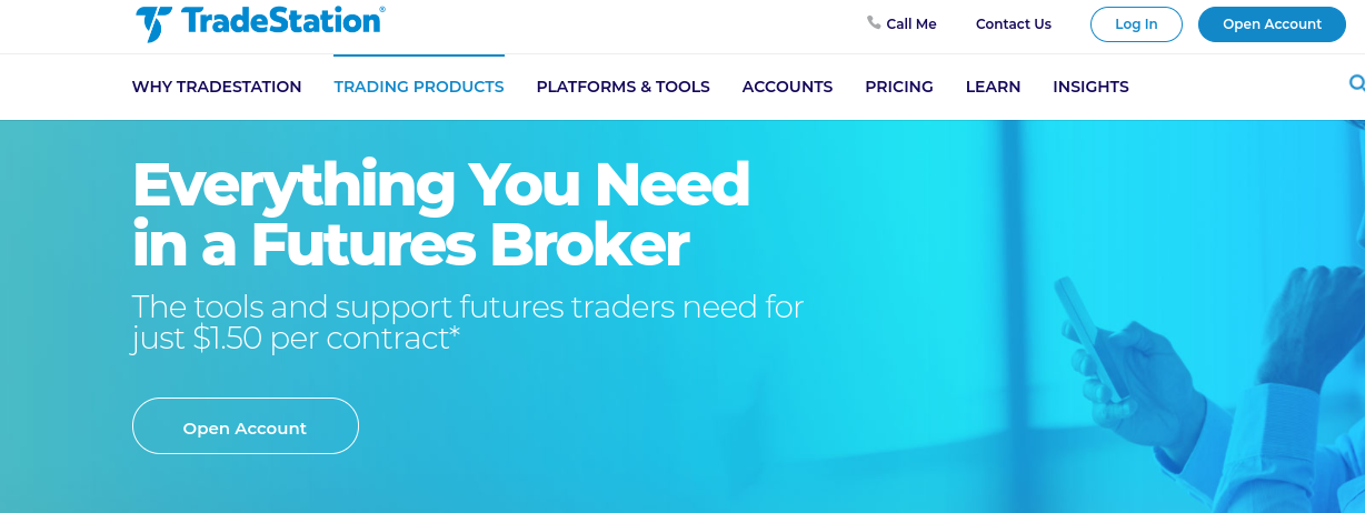 TradeStation futures trading