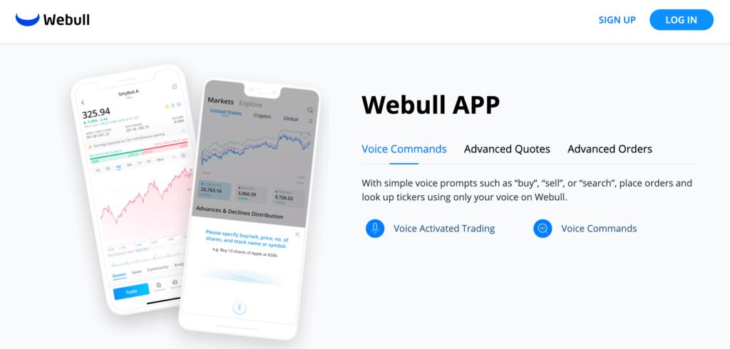 Webull Mobile App