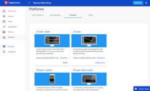Pepperstone trading platform options