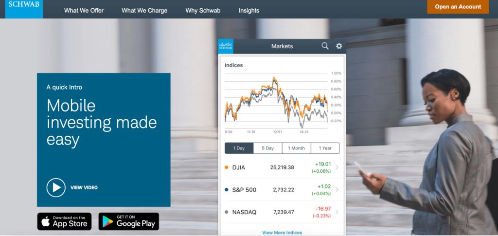 Charles Schwab Mobile Trading App