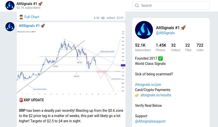 AltSignals telegram