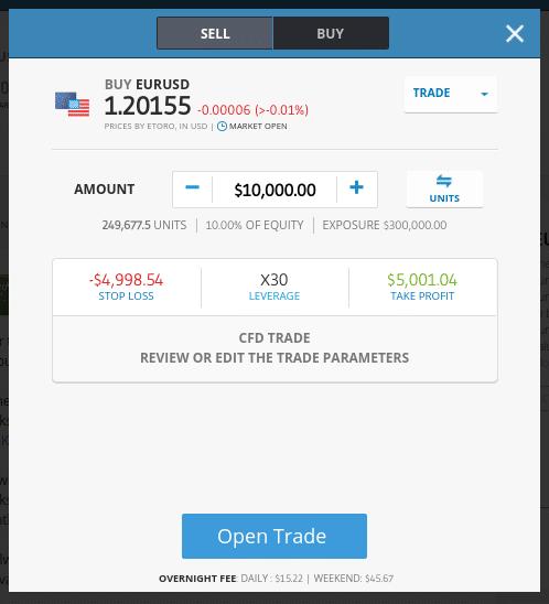 trade forex etoro