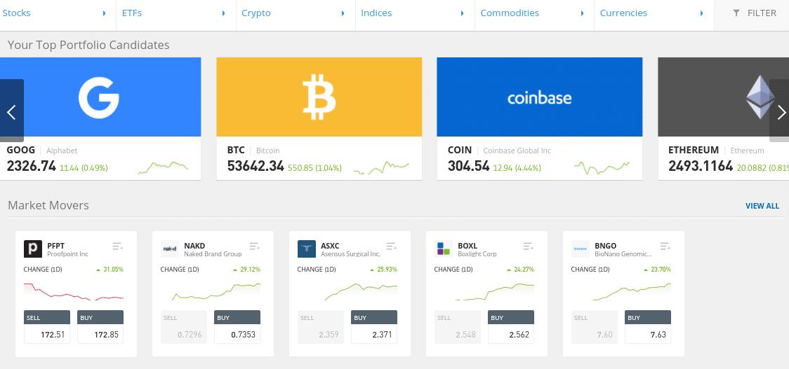 Best Stock Demo Account etoro