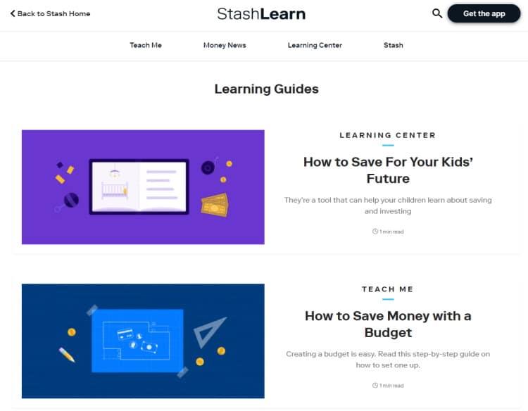 Stash Learn