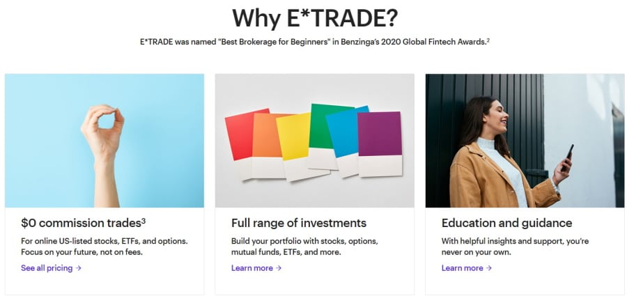 eTrade education