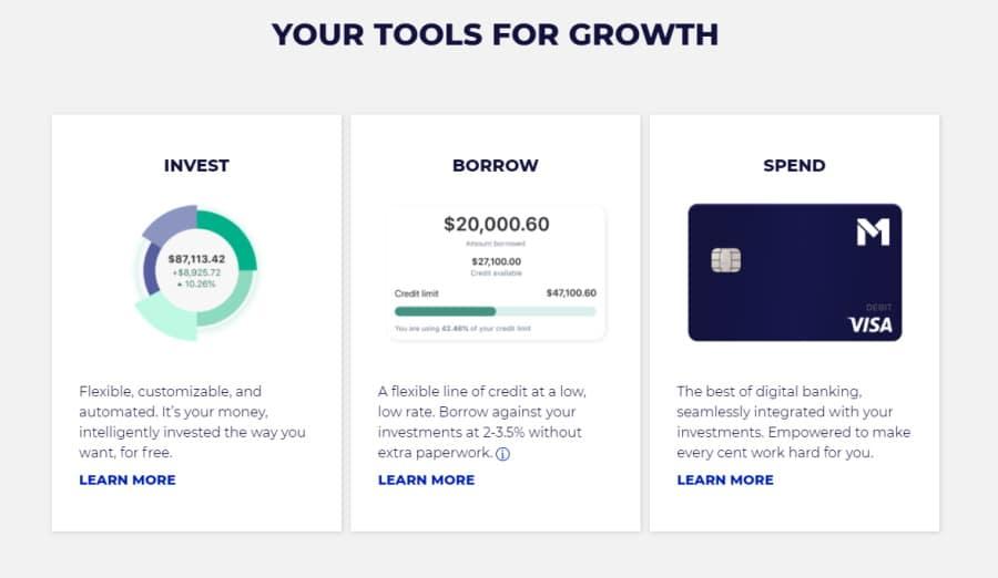 M1 Finance tools