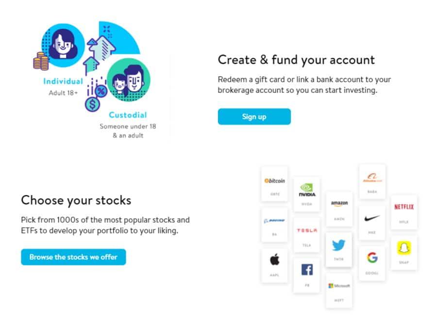 Stockpile account types