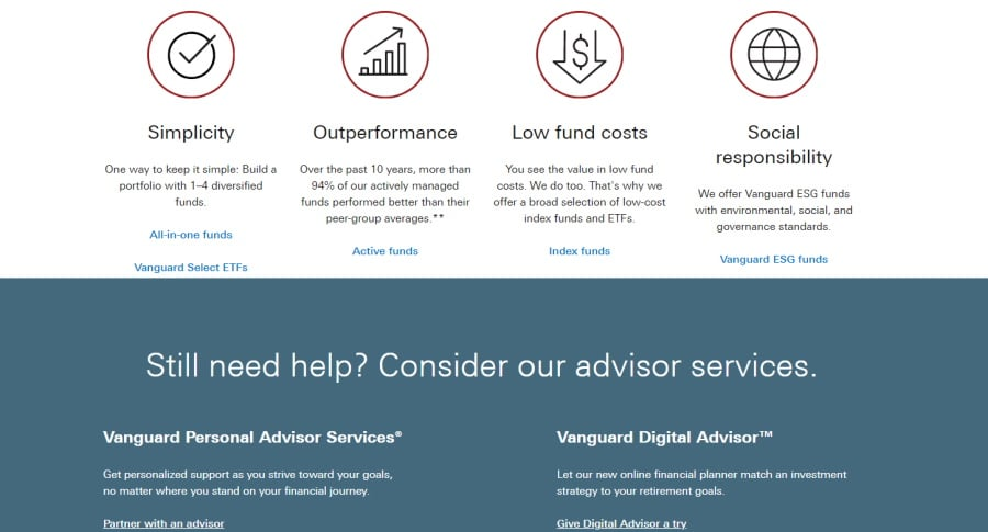 Vanguard Advisor Services