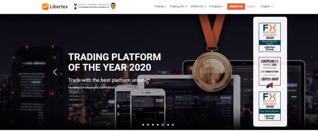 Libertex won Trading Platform of the Year in 2020