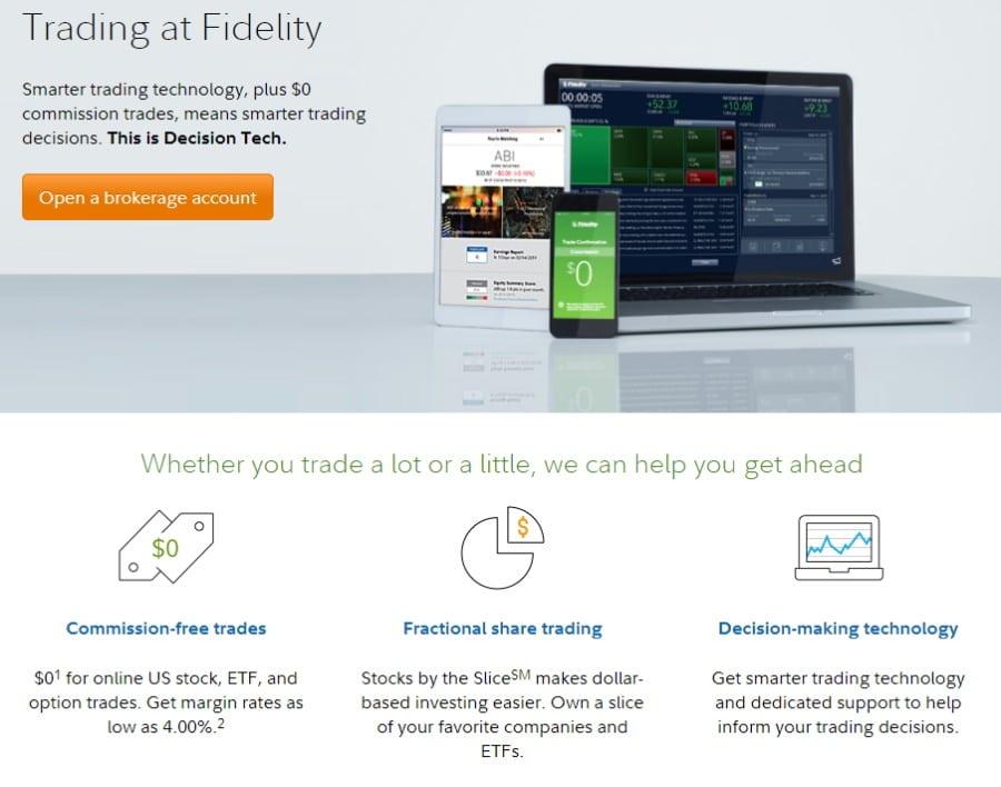 Fidelity trading