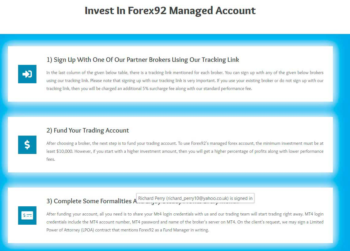 Forex92 how to get started PAMM