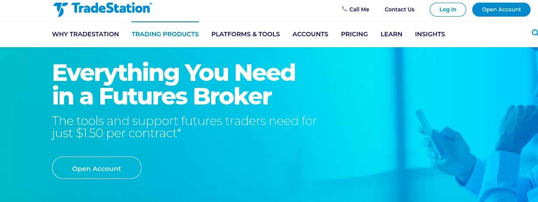 TradeStation futures trading