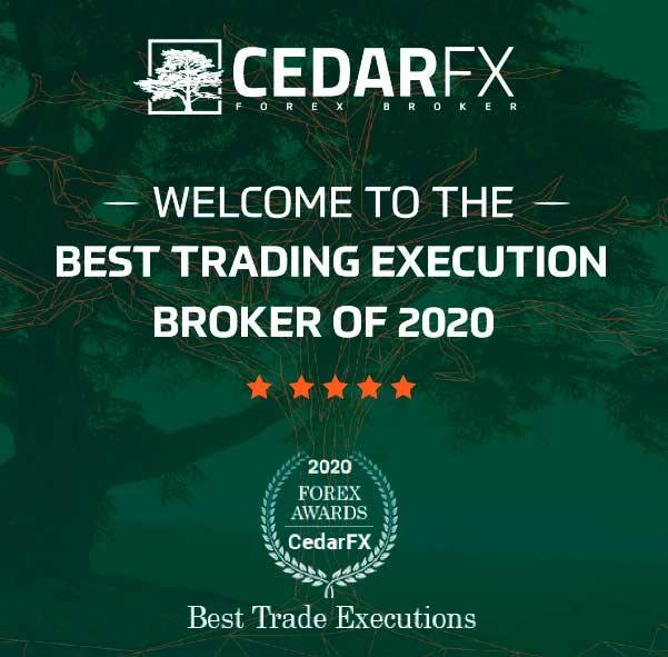 CedarFX Best Trading Execution Broker 2020