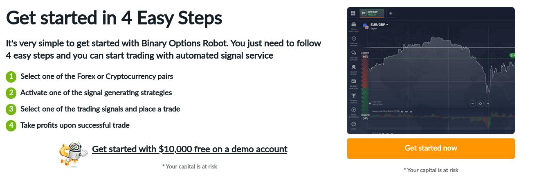 option roboter demo konto geld verdienen im internet evergreensystem