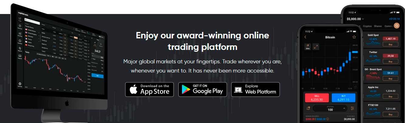 Capital.com online platform