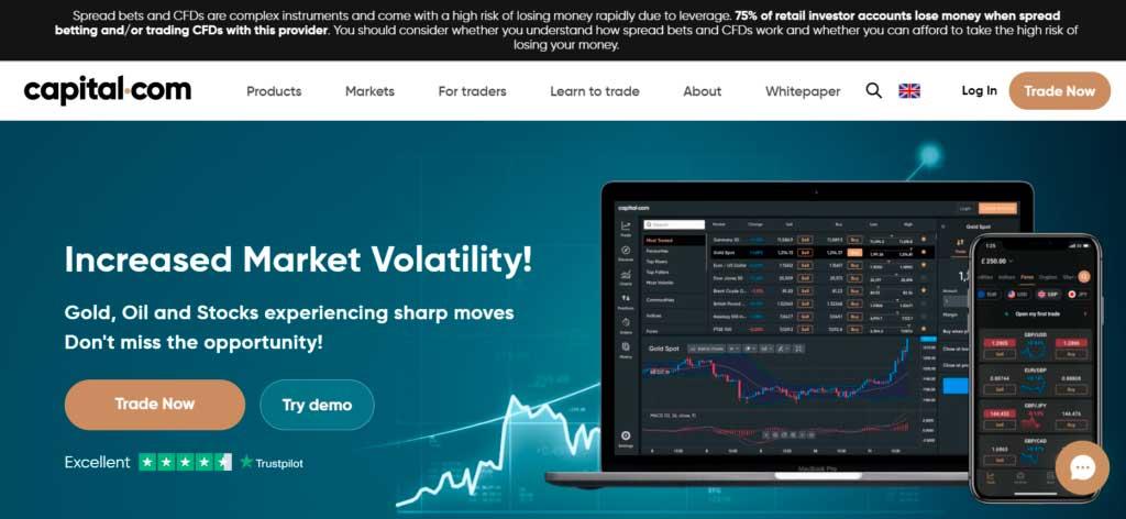 Capital.com website