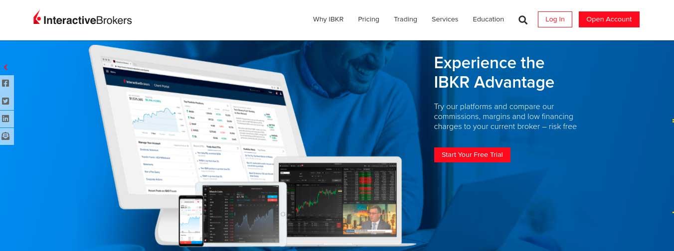 interactive brokers demo account app