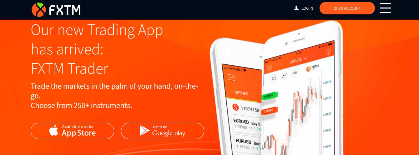 FXTM forex app