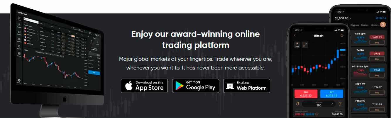 Capital.com trading platform