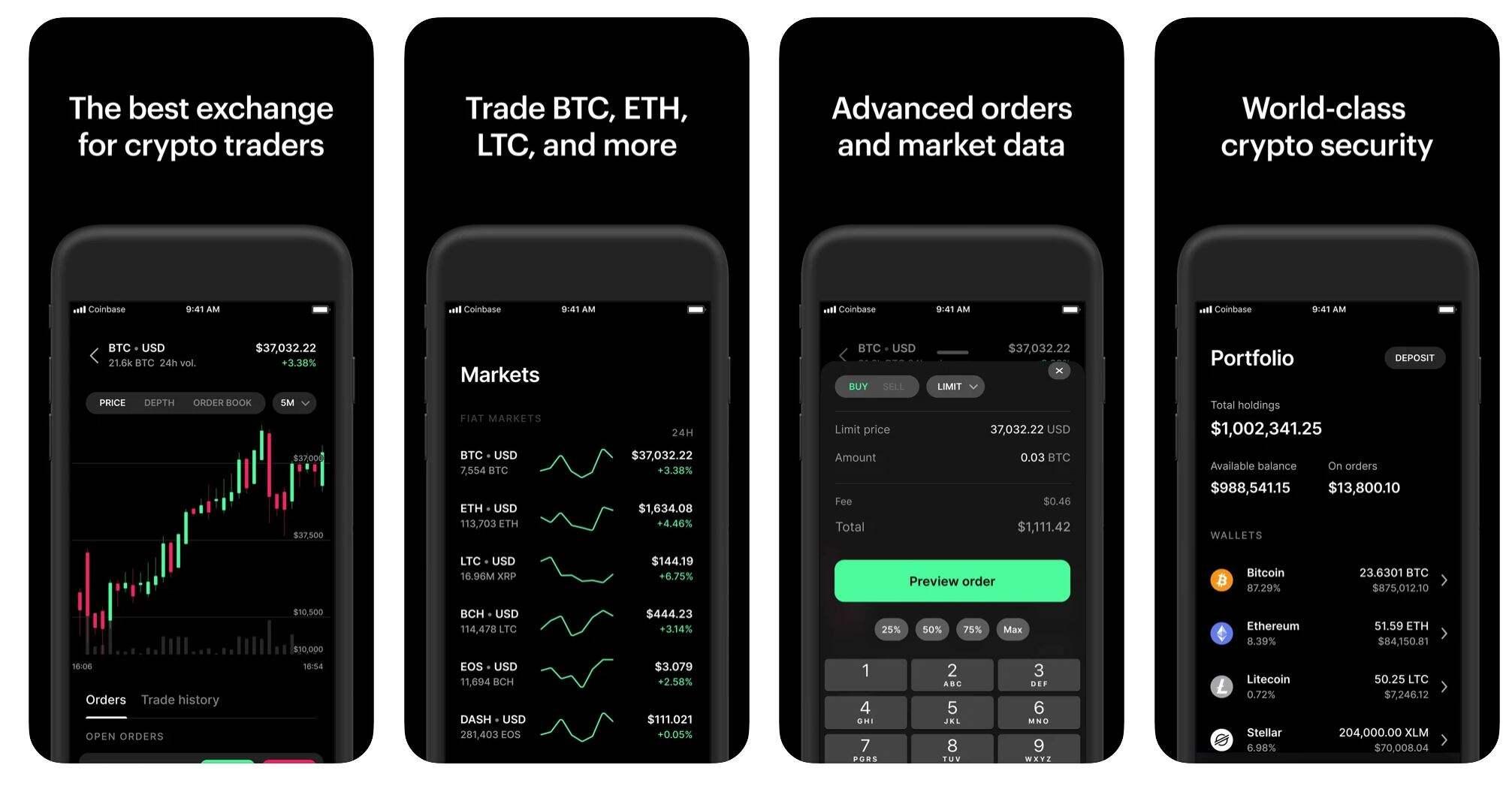 Coinbase Pro Mobile App (1)