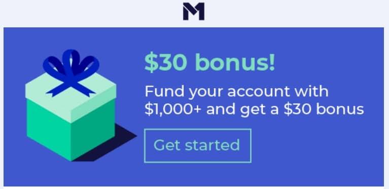 M1 Finance sign up bonus