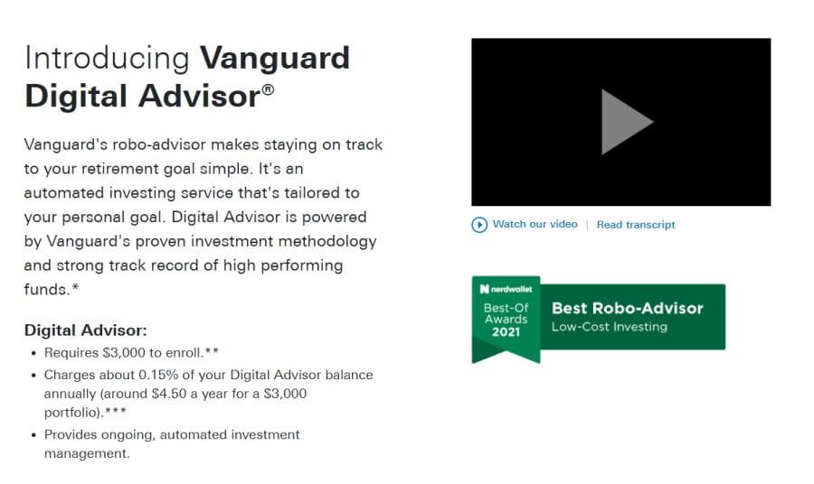 Vanguard Digital Advisor