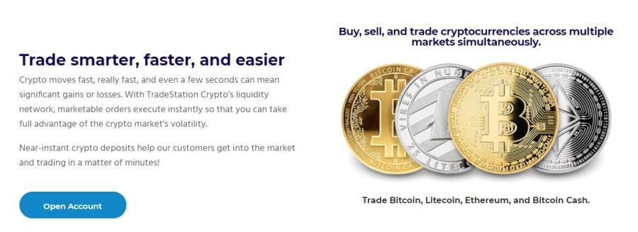 TradeStation crypto trading