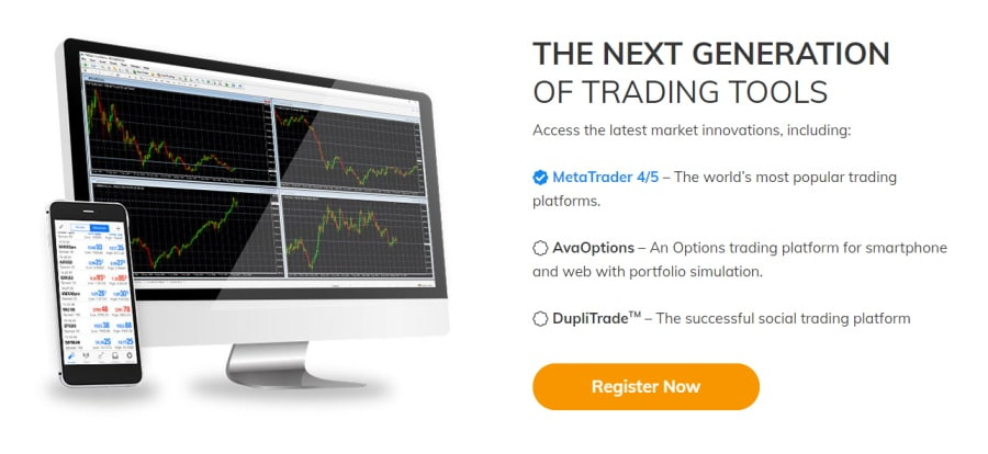 AvaTrade trading tools