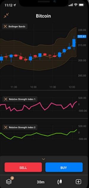 Capital.com mobile trading