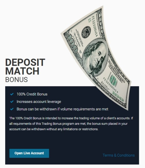 LMFX Deposit Match Bonus