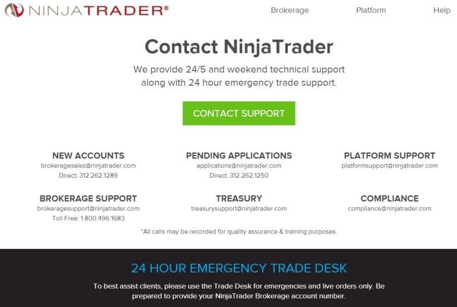 NinjaTrader Customer Support