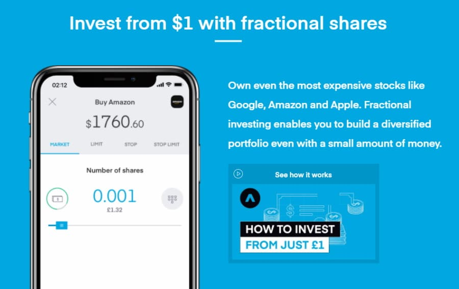 Fractional shares