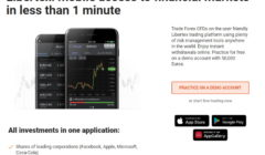 Libertex mobile trading app