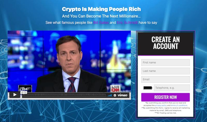 Create a Bitcoin Evolution Account